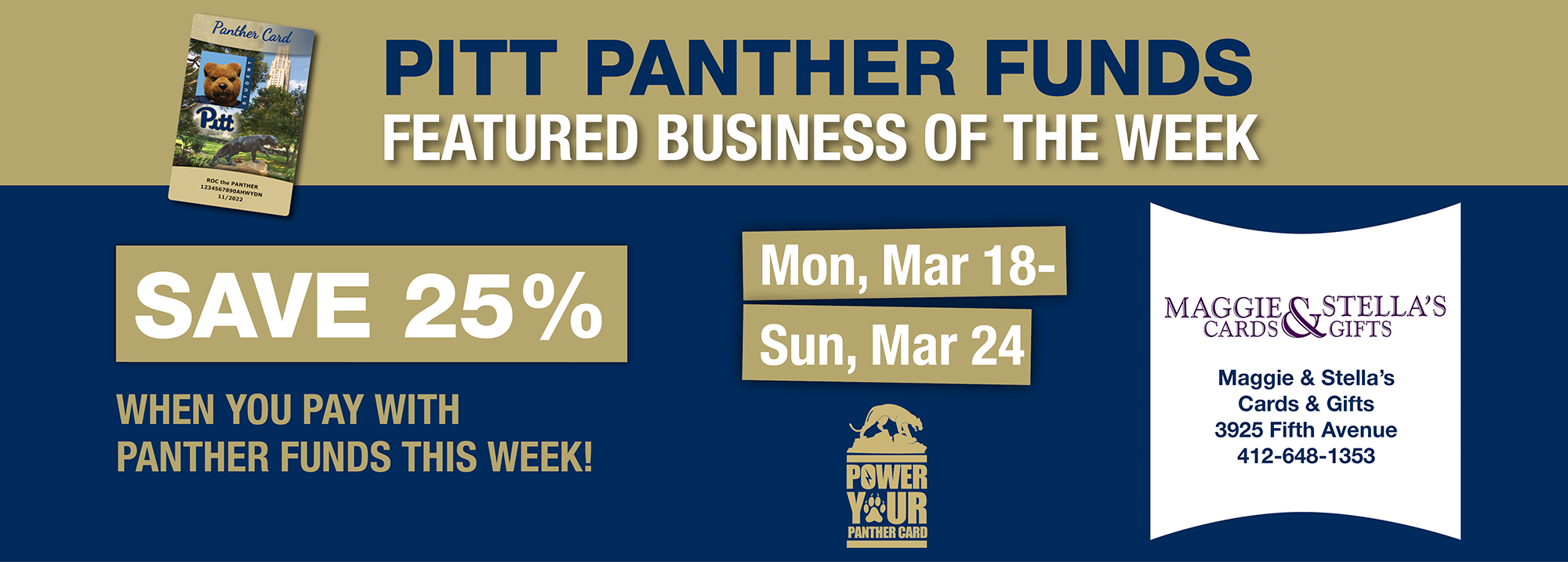 Pitt - Featured business of the week