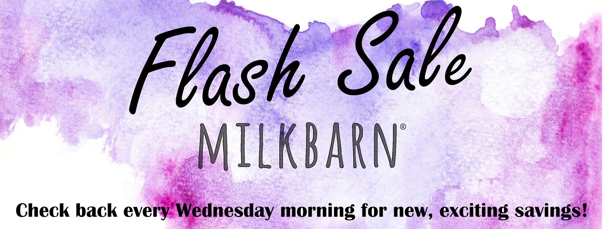 milkbarn flash sale