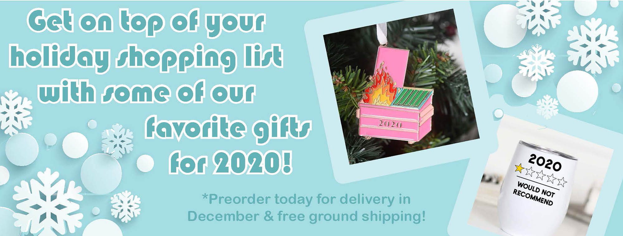 preorder holiday gifts