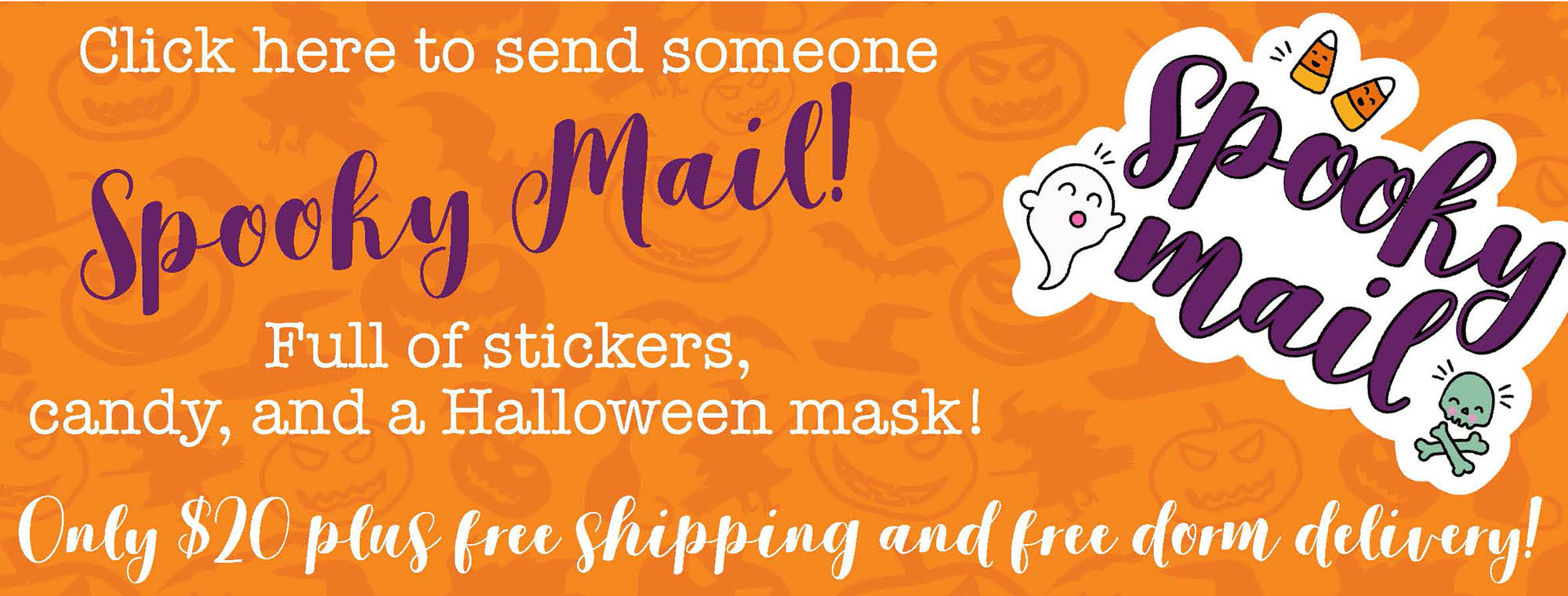order spooky mail