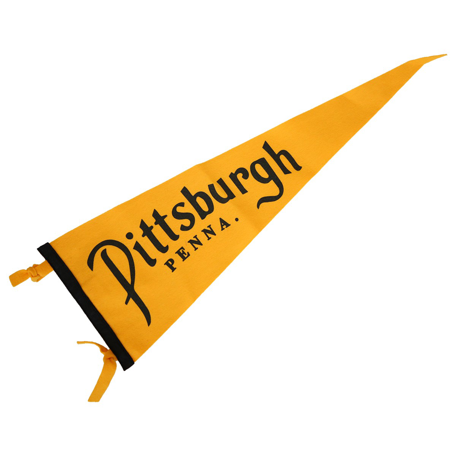Oxford Pennant - Pittsburgh Gold Pennant