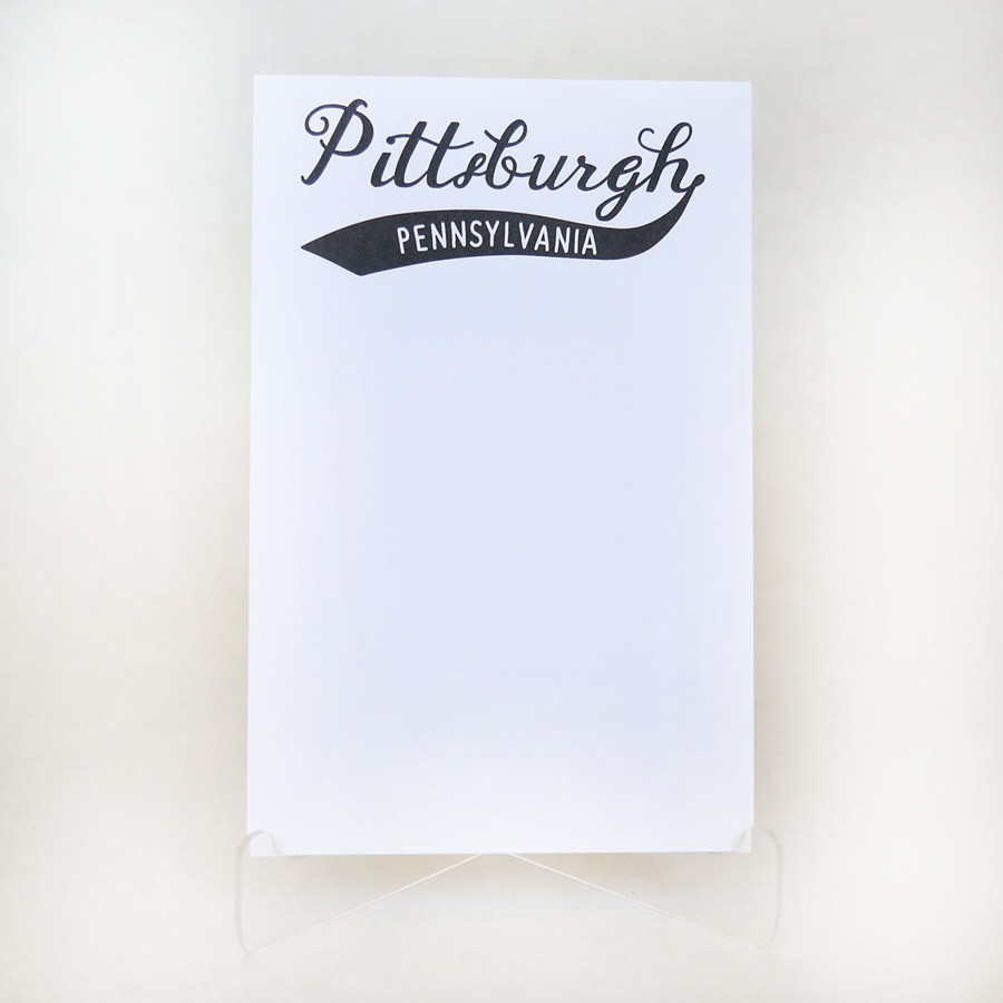 Donovan Designs - Jersey Notepad - Pittsburgh, PA