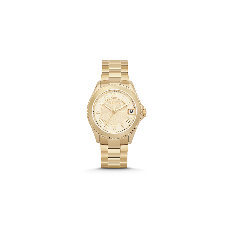 Escape Riviera - Ladies - Stainless Steel Gold Tone Watch