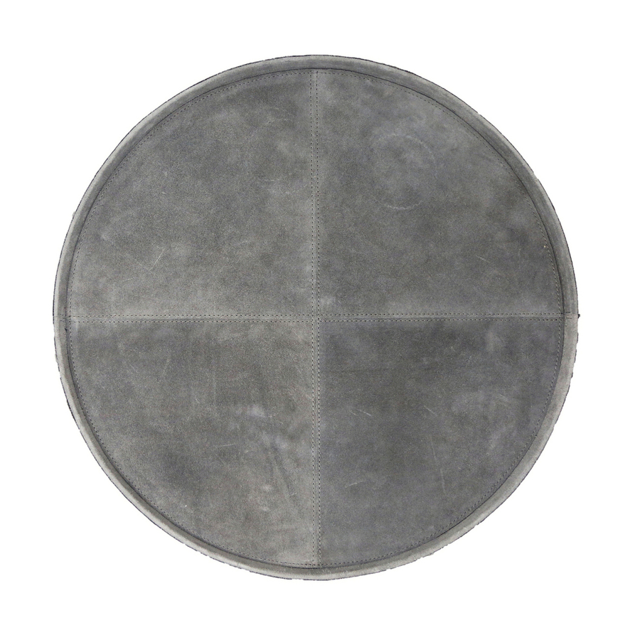 Bloomingville - Suede Tray - Grey