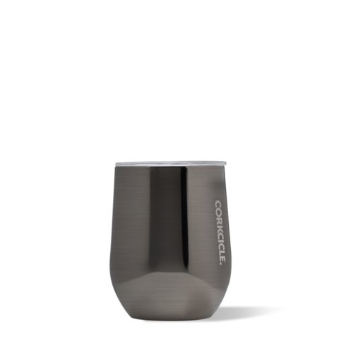 Corkcicle - 12 oz. Stemless Wine - Gunmetal