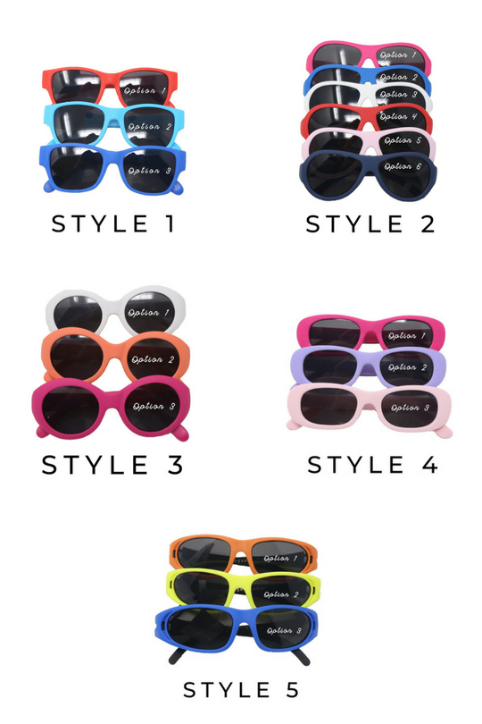 Elegant Baby - Baby Sunglasses - Assorted Colors