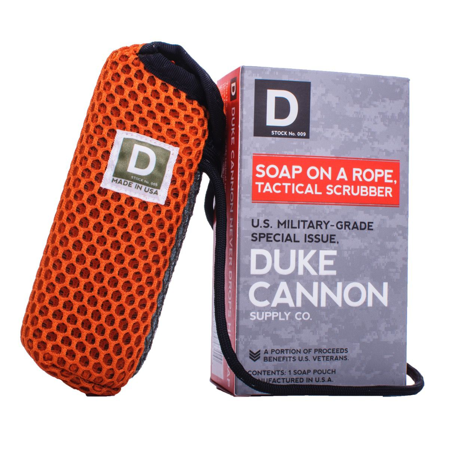 Duke Cannon - Tactical Pouch - Soap on a Rope