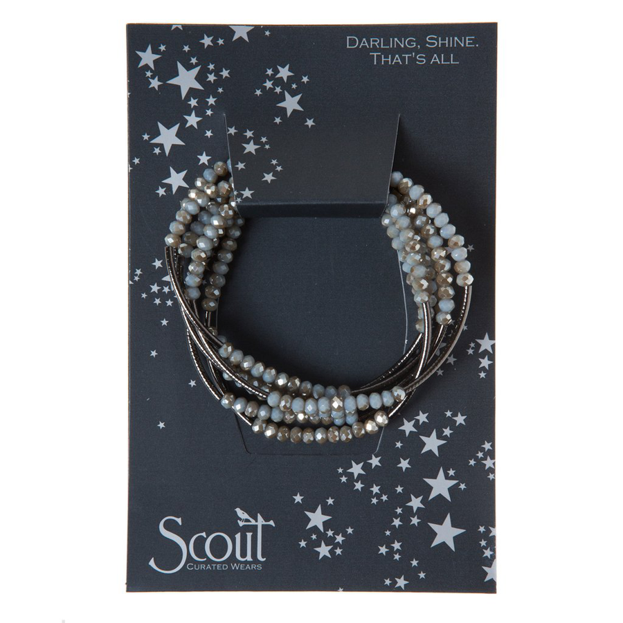 Scout Curated Wears - Metallic Wrap - Night/Black