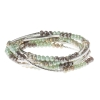 Scout Curated Wears - Metallic Wrap - Iced Mint/Silver thumbnail