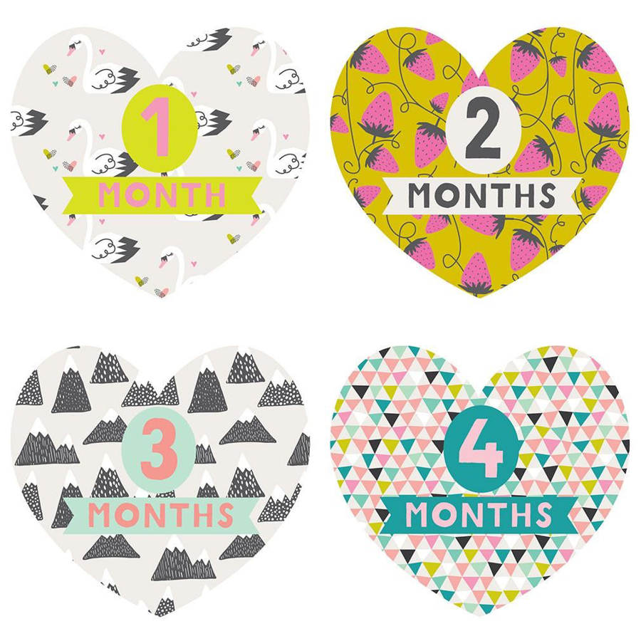 Lucy Darling - Monthly Stickers - Little Love