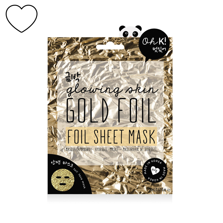 NPW USA - Sheet Mask - Gold Foil
