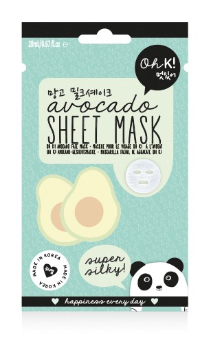 NPW USA - Sheet Mask - Avocado