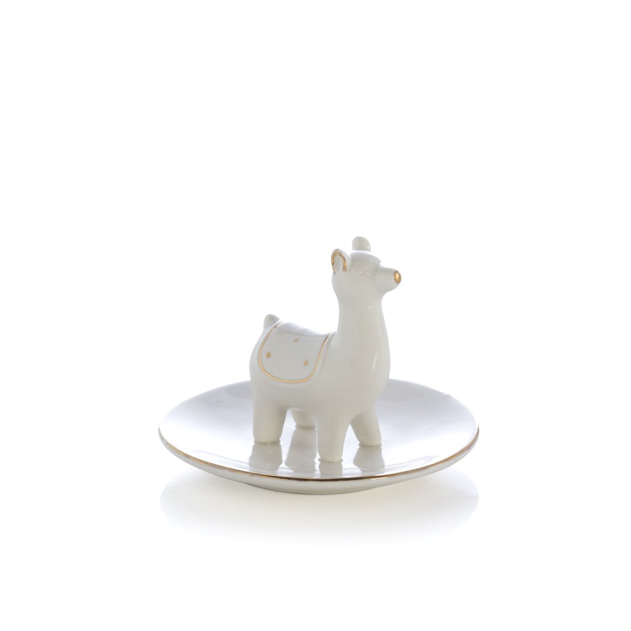 Shiraleah - Jewelry Holder - White Llama
