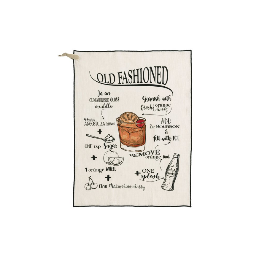 Shiraleah - Tea Towel - Old Fashioned