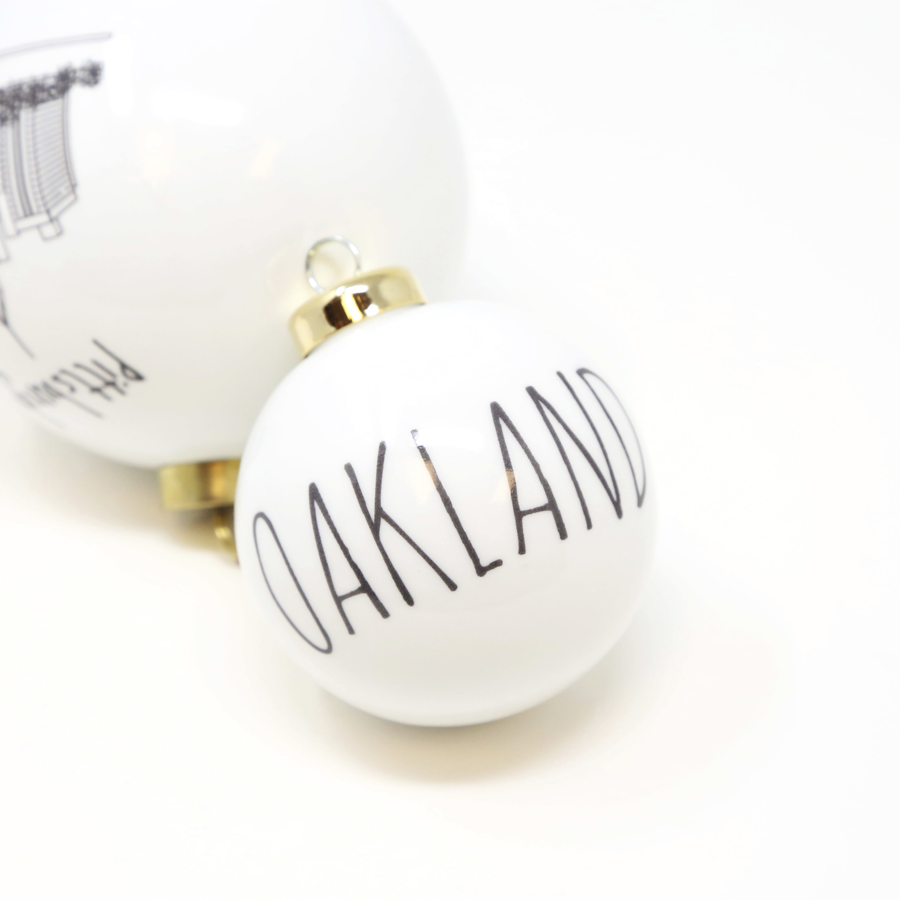 The Dish - Oakland Ornament - Spherical