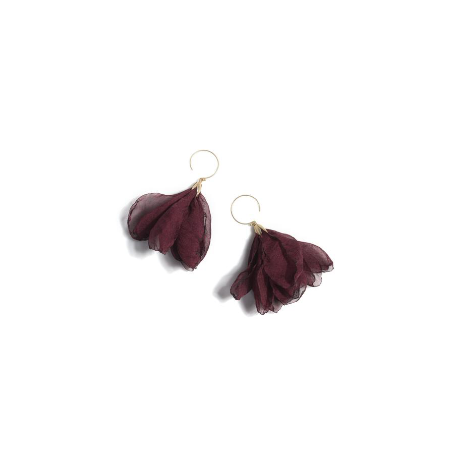 Shiraleah - Bloom Earrings - Wine