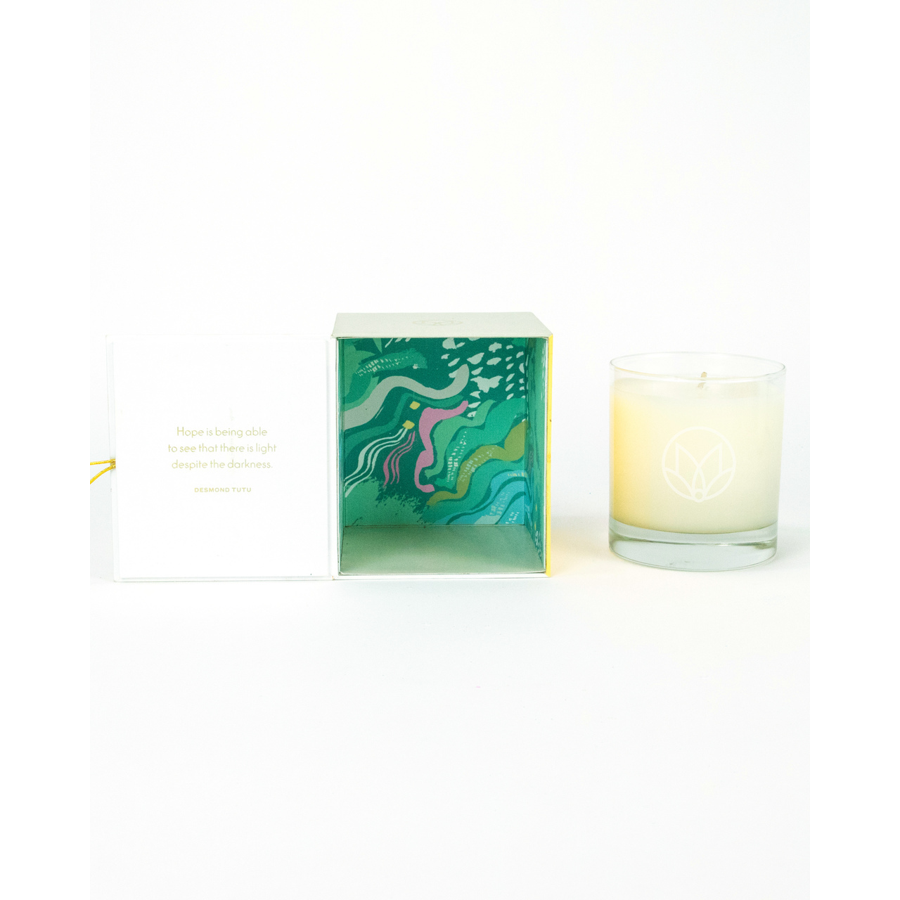Musee - Candle - White Tea & Aloe