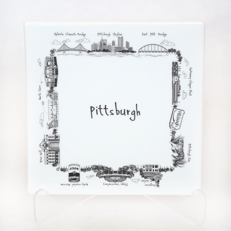 Image For The Dish - Trivet - Pittsburgh