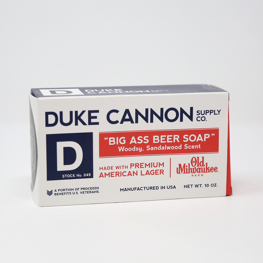 Image For Duke Cannon - Soap - Big Beer