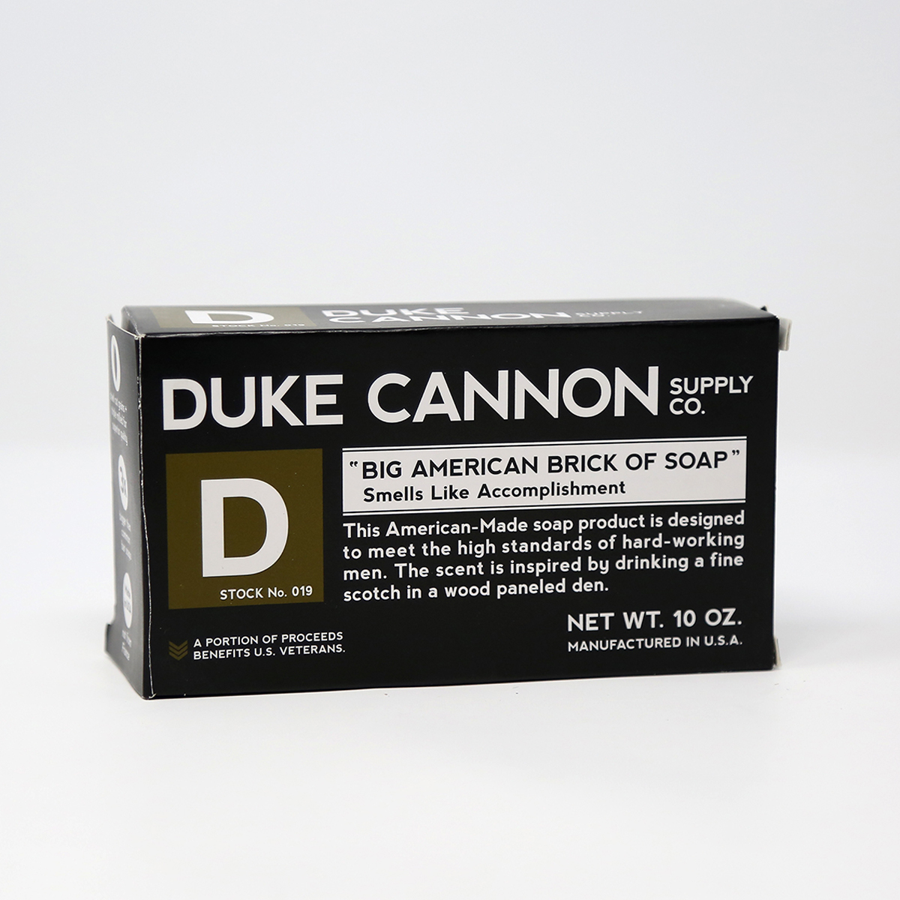 Cover Image For Duke Cannon - Soap - Smells Like Accomplishment