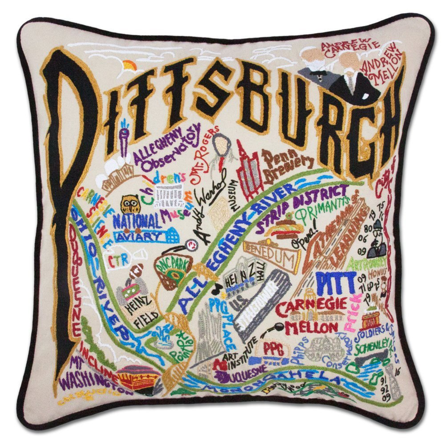 Image For CatStudio - Pittsburgh Pillow