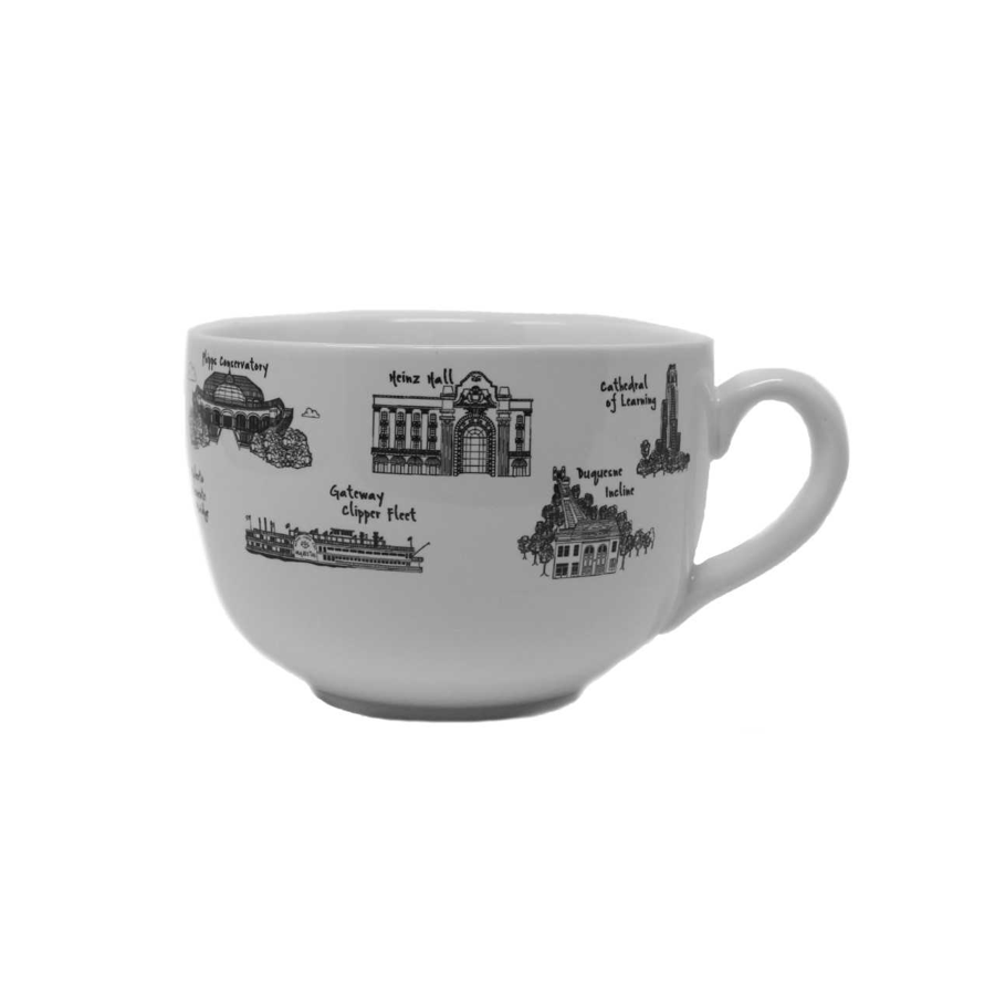 Image For The Dish -  Soup Mug - Pittsburgh