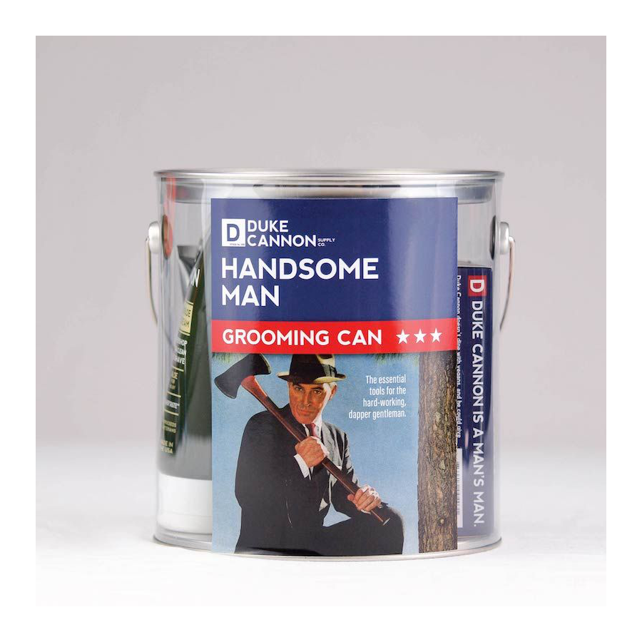 Image For Duke Cannon - Grooming Can -  Handsome Man