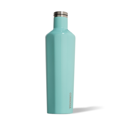 Image For Corkcicle - 25 oz. Canteen - Turquoise