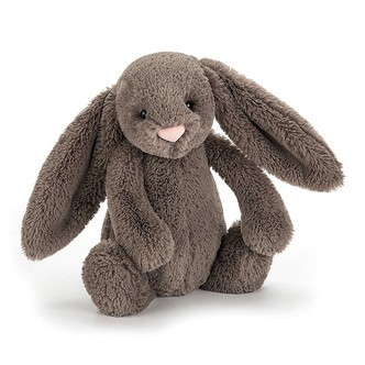 Image For Jellycat - Medium Bashful Bunny - Truffle