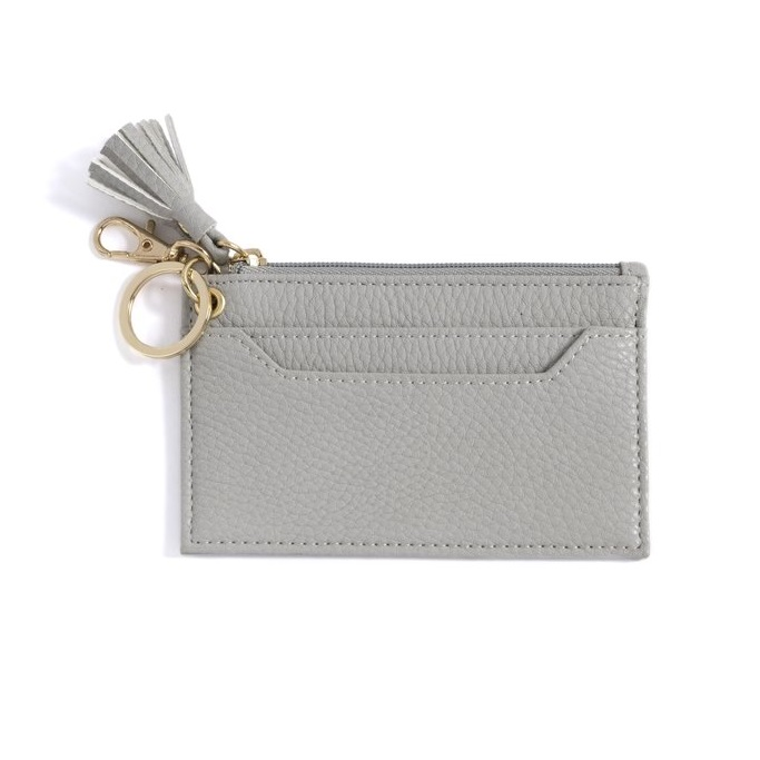 Image For Shiraleah - Gigi Card Case - Gray