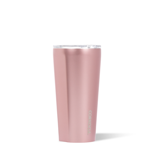 Image For Corkcicle - 16 oz. Tumbler - Metallic Rose