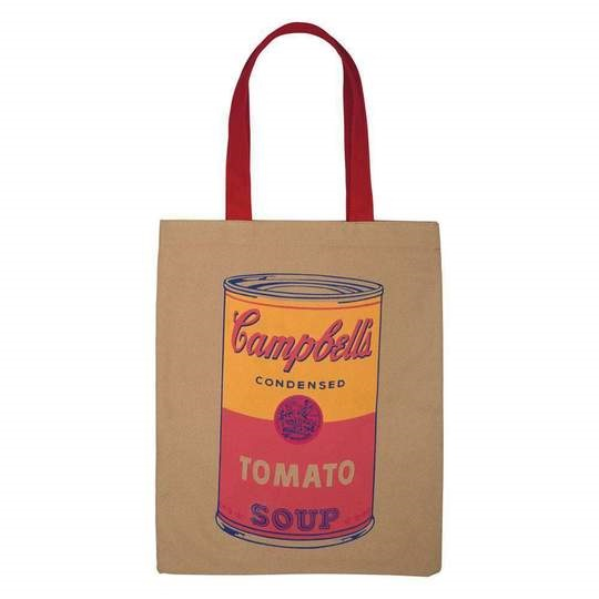 Image For Hachette – Tote Bag – Andy Warhol - Campbell's Soup