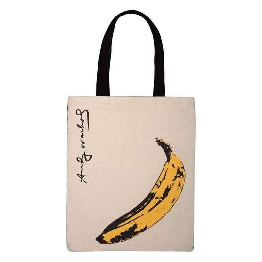 Image For Hachette – Tote Bag – Andy Warhol - Banana