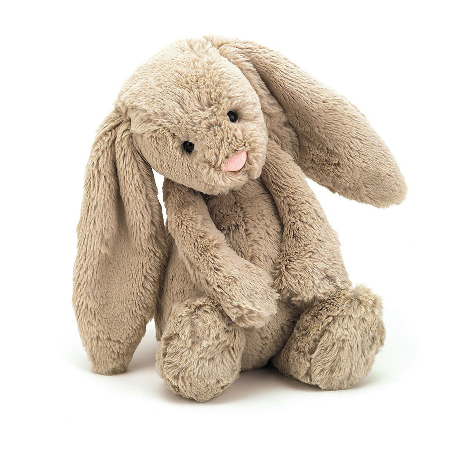 Image For Jellycat - Bashful Bunny Medium - Beige