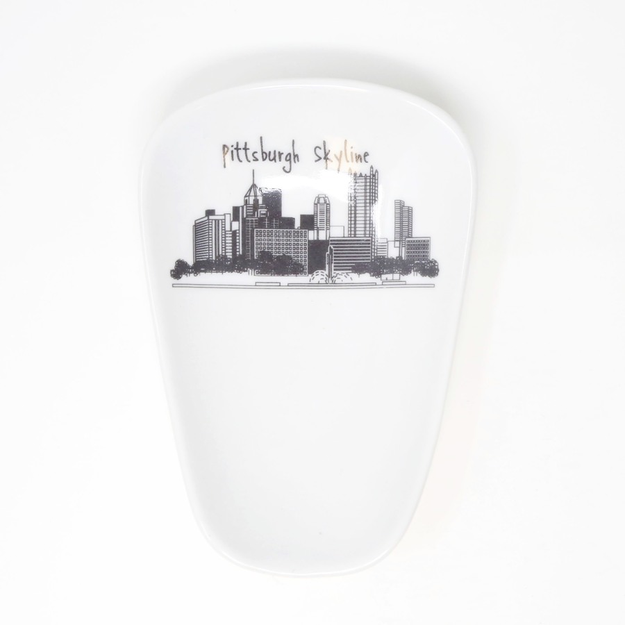 Image For The Dish - Pittsburgh Skyline - Spoon Rest