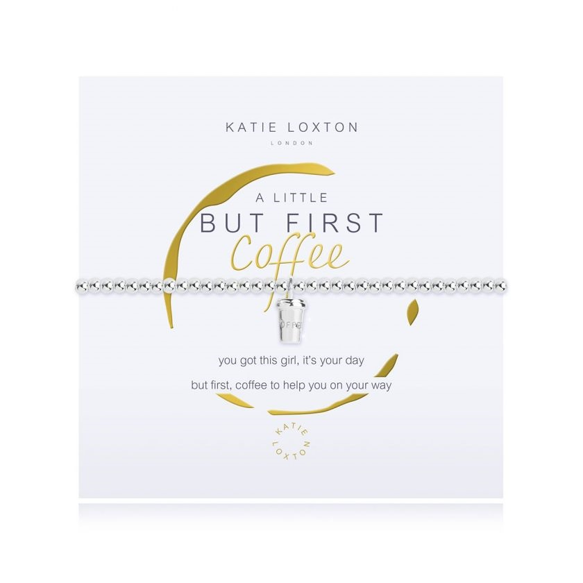 Image For Katie Loxton - Bracelet - But First Coffee