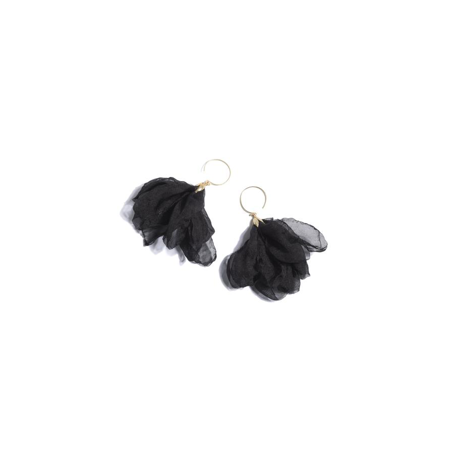 Cover Image For Shiraleah - Bloom Earrings - Black