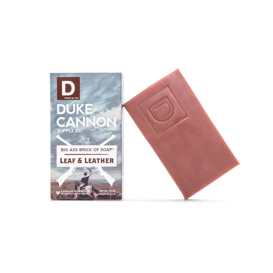 Image For Duke Cannon - Soap - Leaf and Leather