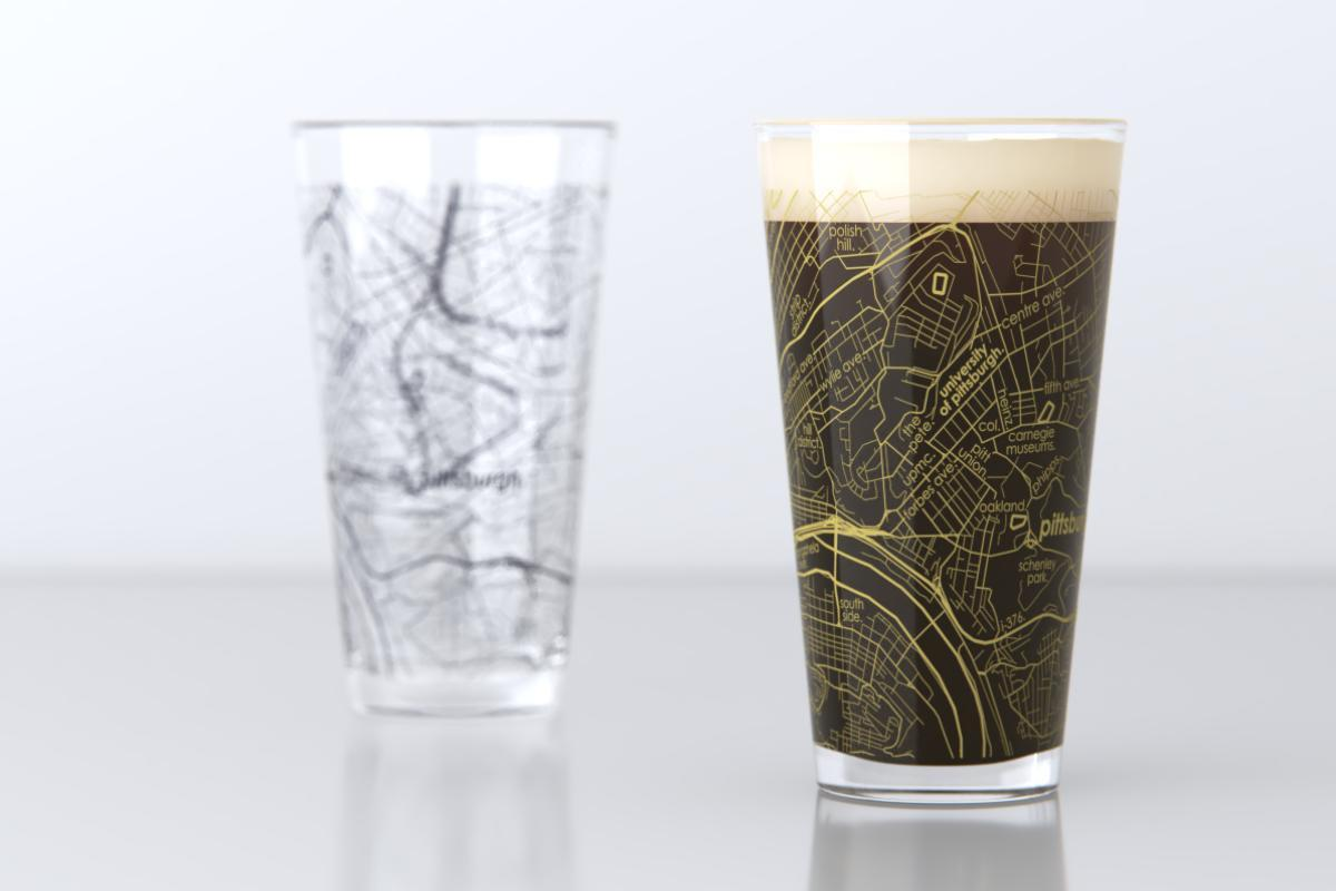 Image For Well Told - Pint Glass - University Of Pittsburgh