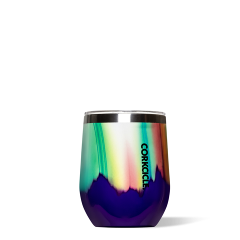 Image For Corkcicle - 12 oz. Stemless Wine - Aurora