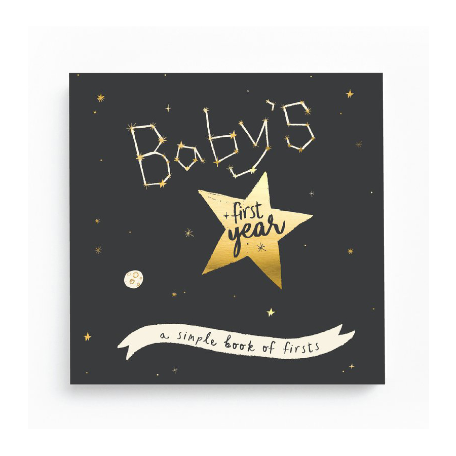 Image For Lucy Darling - Memory Book - Gold Foil Stargazer