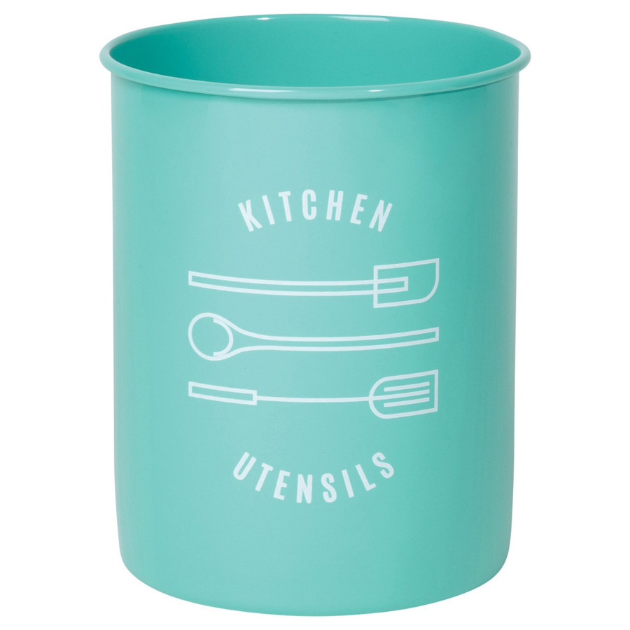 Cover Image For Now Designs - Kitchen Utensil Crock - Turquoise