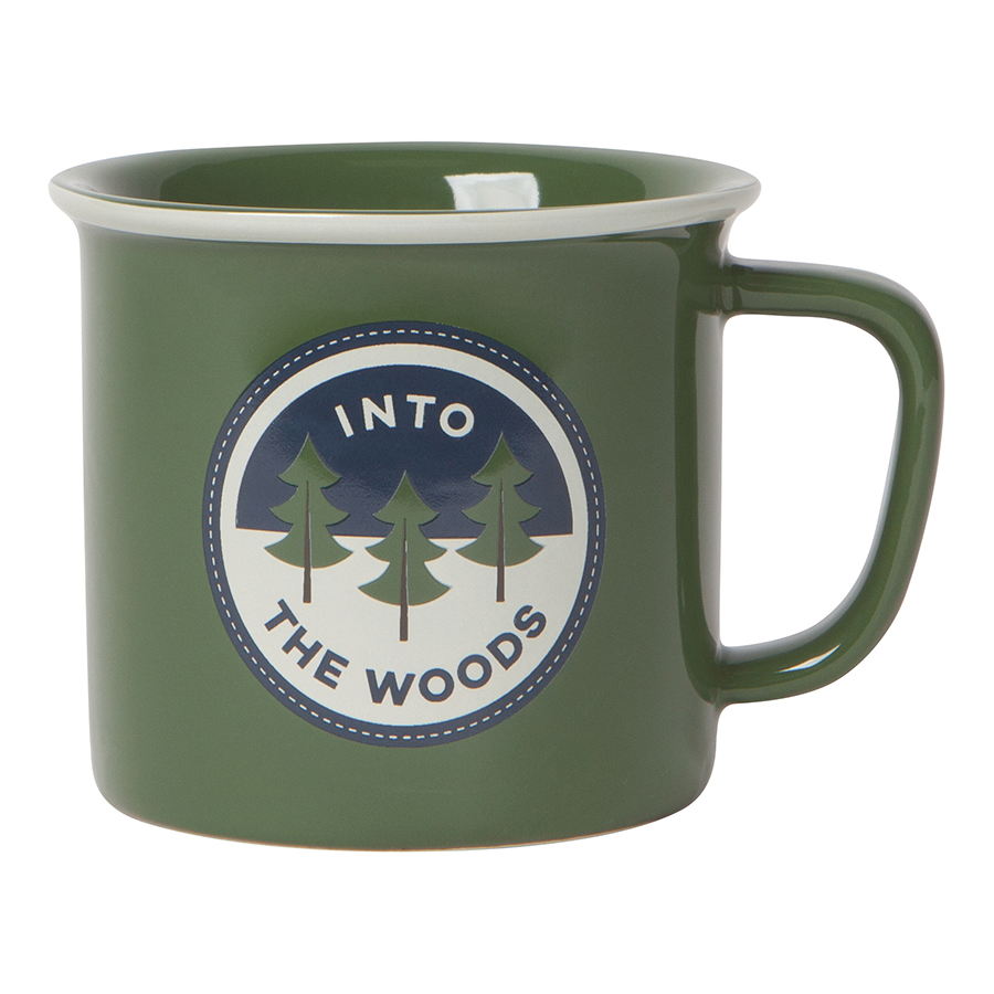 Cover Image For Now Designs - Heritage Mug - Olive Green