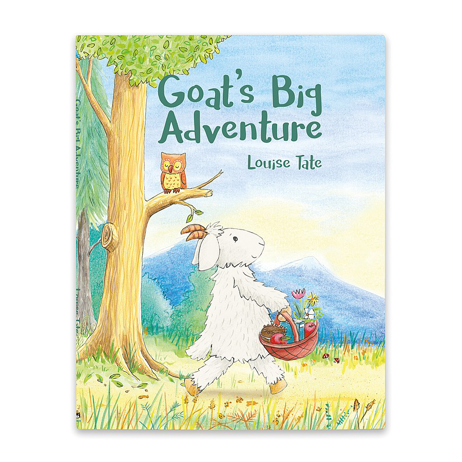 Image For Jellycat - Book - Goat's Big Adventure