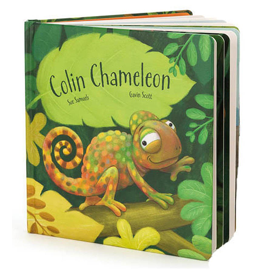 Image For Jellycat - Book - Colin Chameleon
