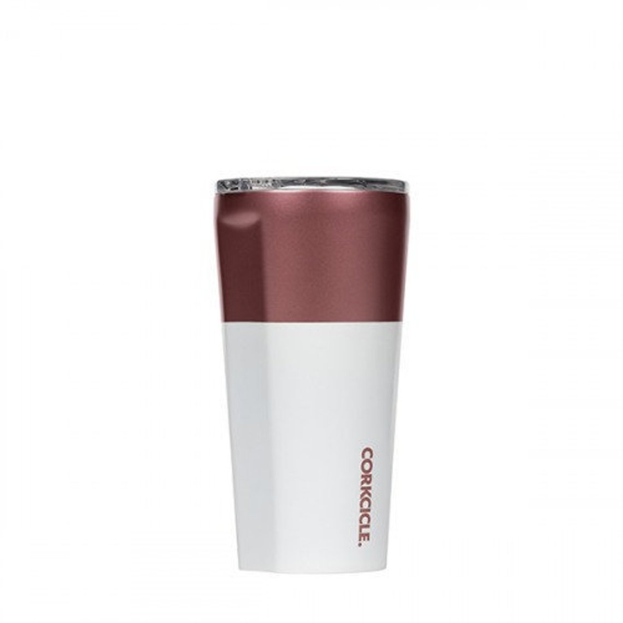 Cover Image For Corkcicle - 16 oz. Tumbler - Modern Rose