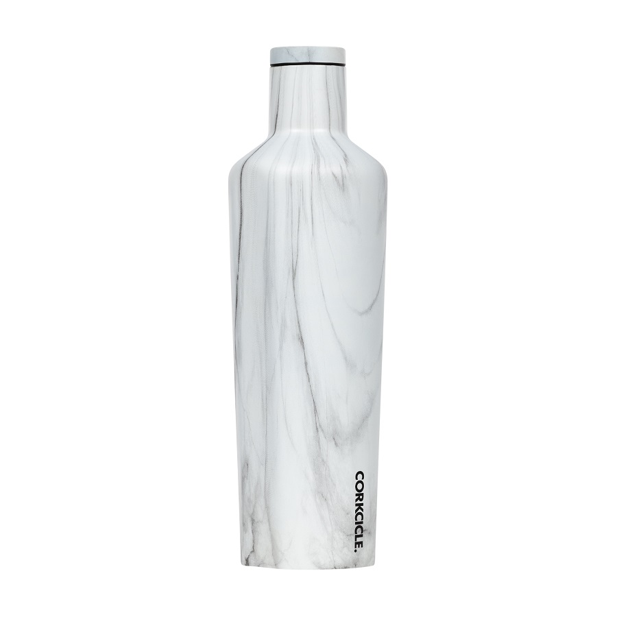 Image For Corkcicle - 25 oz. Canteen - Snowdrift
