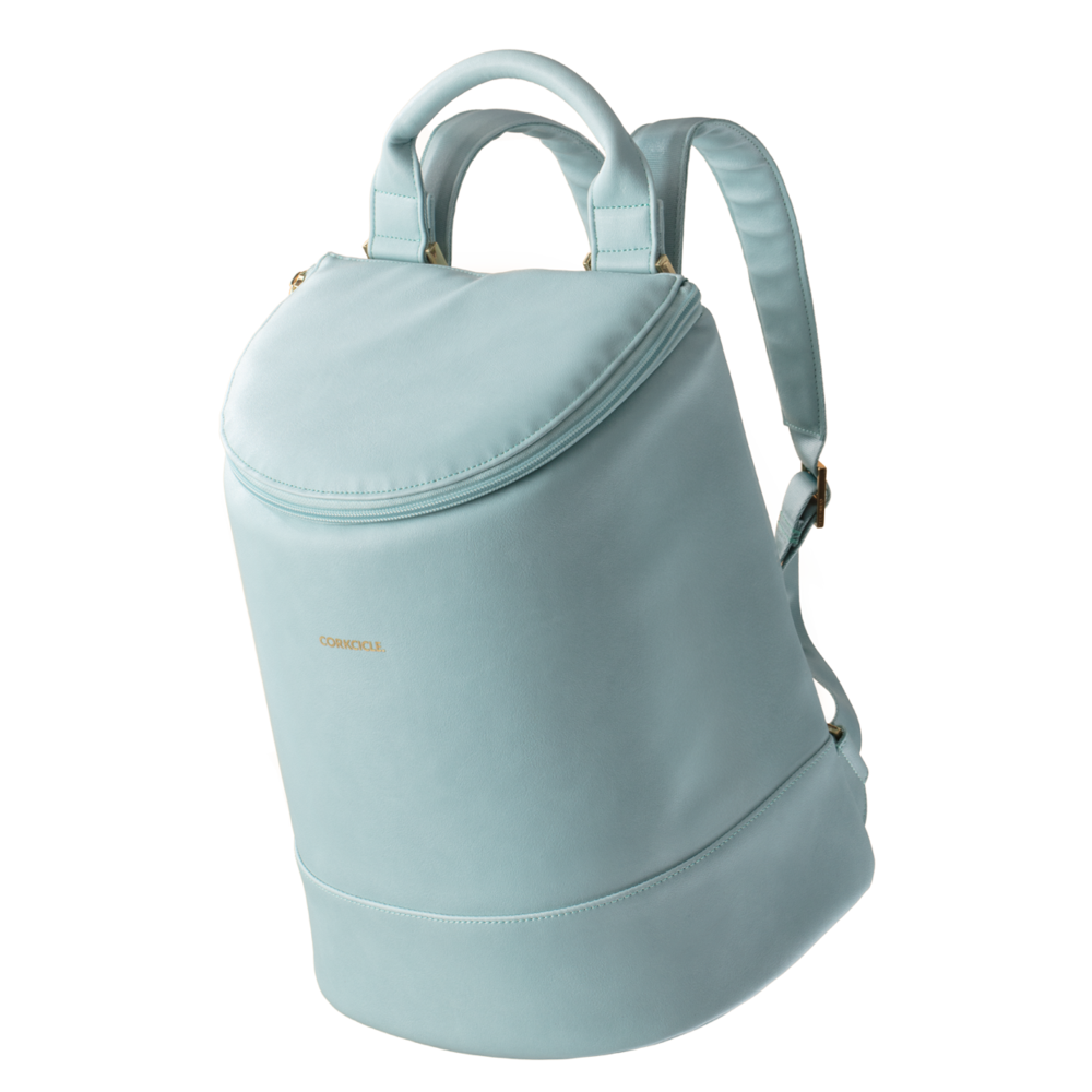Image For Corkcicle - Eola Backpack Cooler - Seafoam