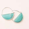 Cover Image for Scout Curated Wears - Stone Stud - Turquoise and Silver