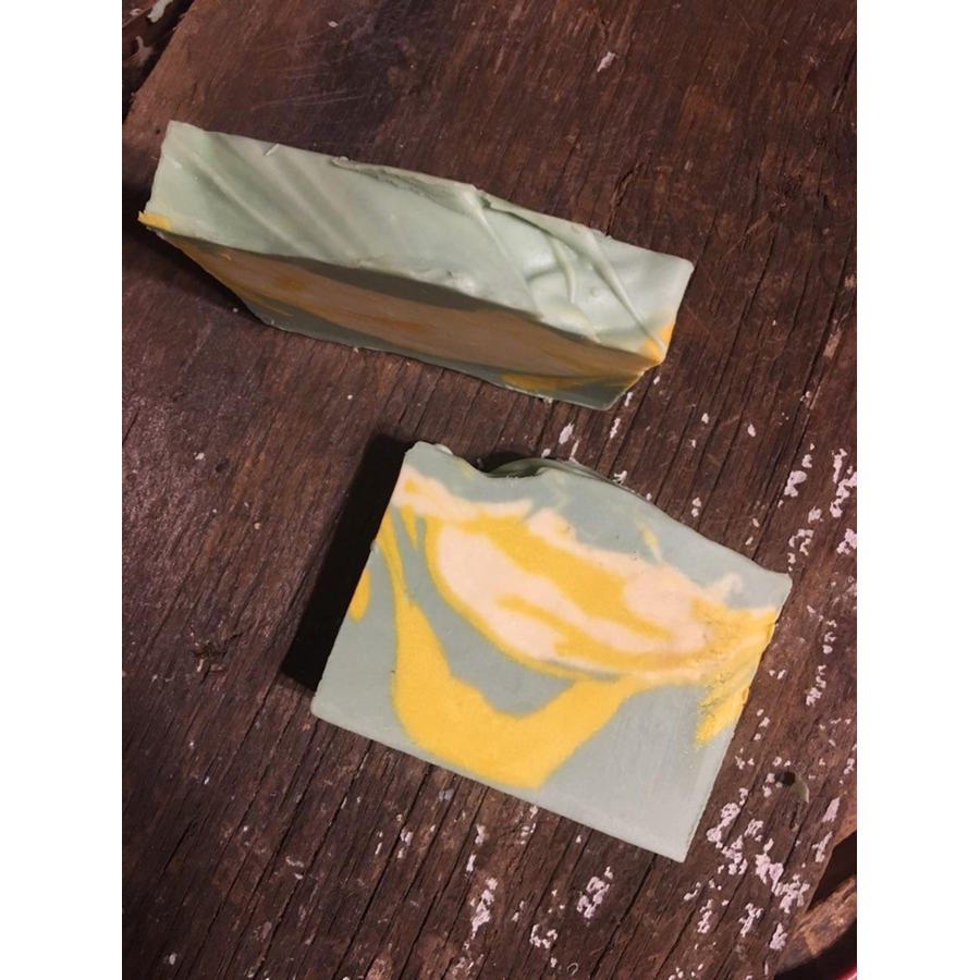 Image For Springtop Farms - Goat Milk Soap - Lemon Eucalyptus